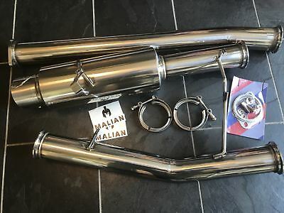 """Toyota Supra Mk3 7MGTE 3.0 Turbo Catback 3"""" Performance Stainless Exhaust System"""
