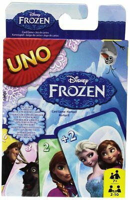 Disney Frozen CJM70 Mattel Uno Cards Game