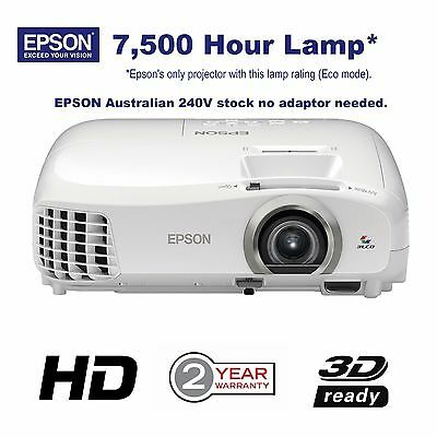Epson EHTW5300 Full HD 1080p Home Theatre 3D Projector EH-TW5300 SAVE! RRP $1499