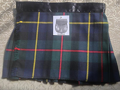 MacLeod Green Baby Kilt 4-12 month Scottish Plaid Fantastic Stocking Stuffer