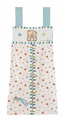Forever Friends  Baby Nursery Blue Stars Boys Nappy Stacker Tidy