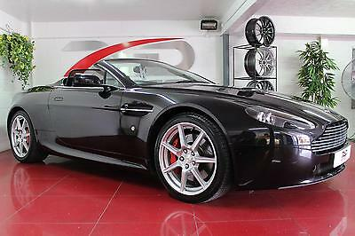 Aston Martin 4.3 Vantage V8 Roadster   Automatic   Black With Black Leather