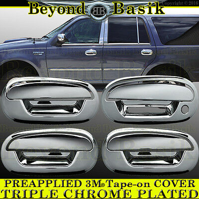 CHEVY SUBURBAN CHROME TAILGATE HANDLE COVER 2007-2010