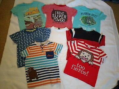 Bundle of boys 2-3 years t-shirts