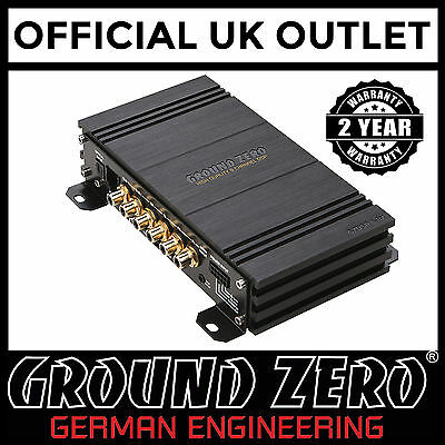 Ground Zero GZDSP6-8X High Quality 6 Input to 8 Output Passive DSP Processor