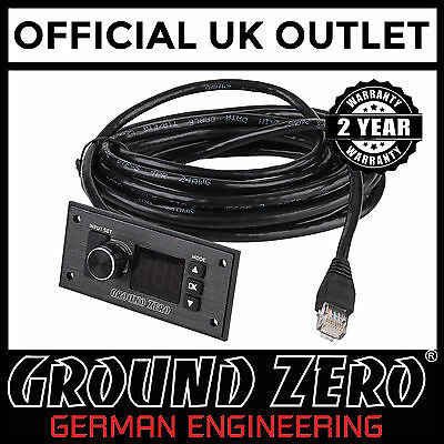 Ground Zero GZDSP-Remote DSP Processor Remote Control Booster