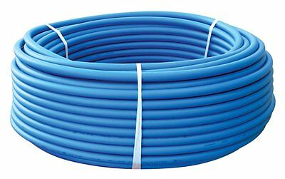 """1"""" x 100ft Blue Pex Tubing/Pipe Pex-B 1-inch 100ft Potable Water Non Barrier"""