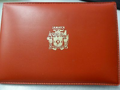 1970 Coins Of Jamaica 6 Coin Proof Set w/ red Envlope & Papers