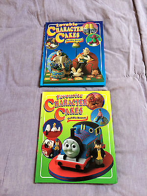 2 Debbie Brown Character Cakes Decorating Books