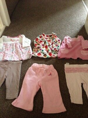 3/6 Months Girls Bundle From Marks And Spencer's