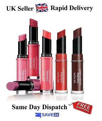 !RRP£8.99! Revlon Colorstay Ultimate Suede Lipstick, Sealed - Choose Your Shade