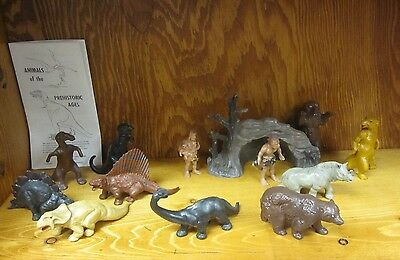 Miller Prehistoric dinosaur collection complete small set