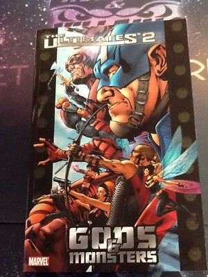 THE ULTIMATES 2 VOL 1 GODS AND MONSTERS TPB (T237) Marvel