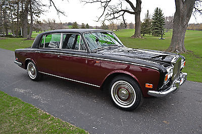 1972 Rolls-Royce Silver Shadow - 4 door sedan LOW miles, beautiful color, stunning cond. Original, immaculate & fully servc'd