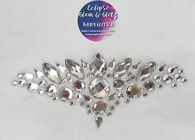 ECLIPSE QUEEN body forehead jewels & gems
