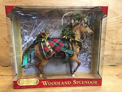 "Breyer 2016 Christmas Horse ""WOODLAND SPLENDOR"""