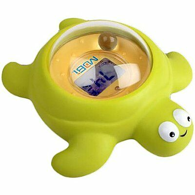 Mobi TempTub Digital Baby Bath Thermometer Audiable Visible Hot Warnings Turtle