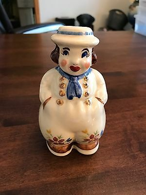 Shawnee Pottery Gold trim dutch boy shaker