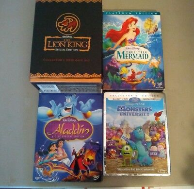 Lion King Special Edition DVD Box Set and other Disney Movies