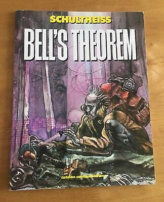 Bell's Theorem By Schultheiss Vol. 1 Graphic Novel Comic - VGC - Make An Offer!