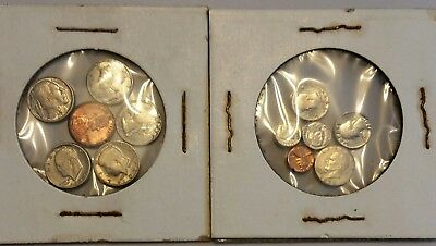 """Novelty Mini Coin Sets.  Modern coin mini's were called """"Recession coins"""""""