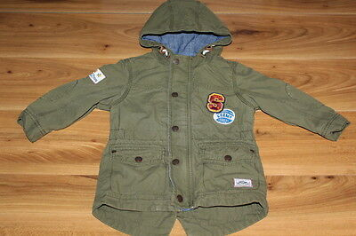 NEXT boys green autumn spring coat 18-24 months *I'll combine postage