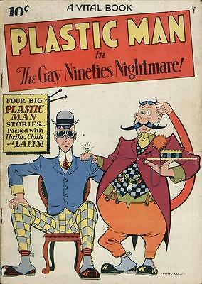 Plastic Man #2 Photocopy Comic Book