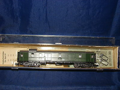 N Wagon Couvert Fourgon Bagages Roco 24228 Neuf Boite Train Electrique