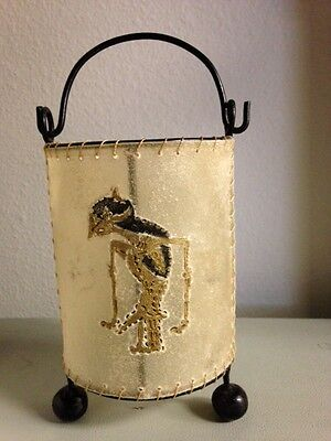 Indonesian Traditional Candle Holder Lantern Patio Decor-Hand Made