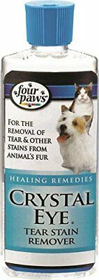 Four Paws Crystal Eye Dog Grooming Tear Stain Remover, 4 Oz