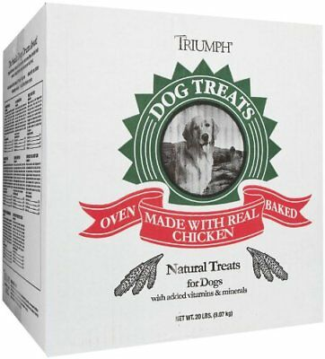 Triumph Pet 736186 Dog Large Assorted Biscuits, 20-Pound