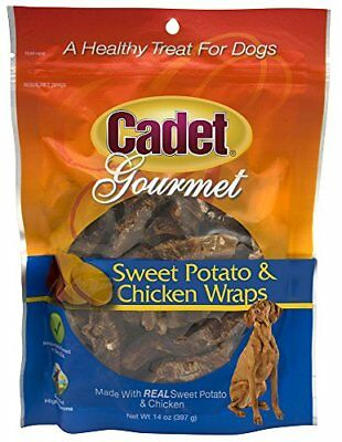 Cadet Chicken And Sweet Potato Dog Treat Wraps, 14 Oz.