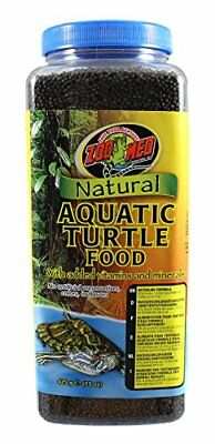 Zoo Med Natural Aquatic Turtle Food Hatchling Formula