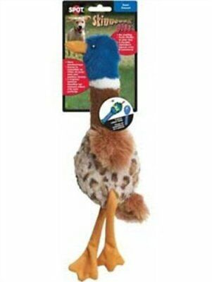 Ethical 5733 Skinneeez Plus - Duck Stuffing-Less Dog Toy, 15-Inch