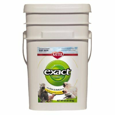 Kaytee Exact Hand Feeding For Baby Birds, 22-Lb Bucket
