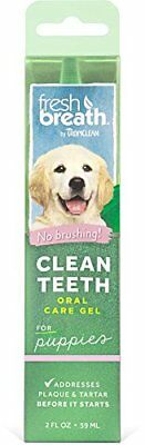 Tropiclean Fresh Breath Clean Teeth Oral Care Gel For Puppies, 2Oz