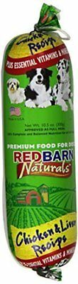 Redbarn Pet Products 416068 Redb Chicken/Liver Roll Food, Small, 10.5-oz (3pk)
