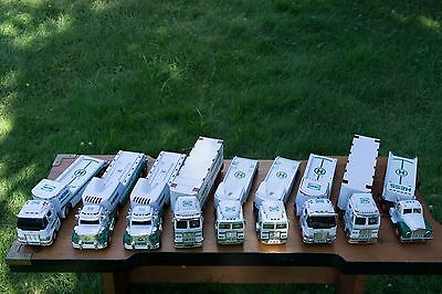 Hess Trucks, Cars, Planes, Helicopters, Motorcycles Lot!!! Lot of about 40
