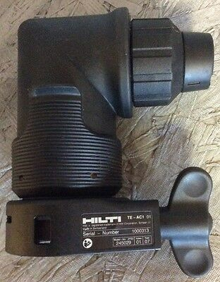Hilti TE-AC1 right angle chuck, Hilti rotary hammer drill, right angle adapter