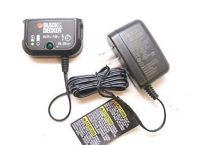 Black & Decker Battery Charger 9.6 to 18 Volt Slide Pack 90571729, 90592363-01