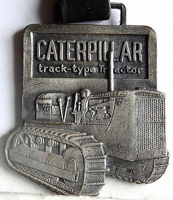CATERPILLAR TRACTOR WATCH FOB (CAT-15d) 77 On Seat