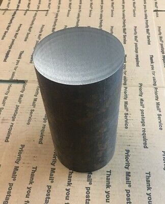 "3 3/4""X 6"" Solid Steel 1018 Alloy Round Stock Shaft Blacksmith Lathe Machining"
