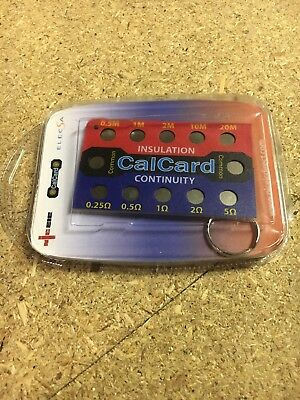 CalCard Resistance Calibration Checkbox - Insulation/Continuity - New