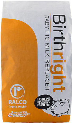 BIRTHRIGHT MILK NAP REPLACER Non-Animal Protien Pig Milk Repacer 25lb. Bag