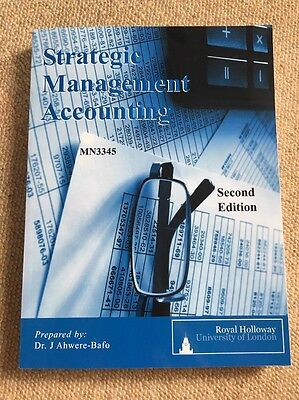 Strategic Management Accounting 2nd Edition By Dr. J Ahwere-Bafo