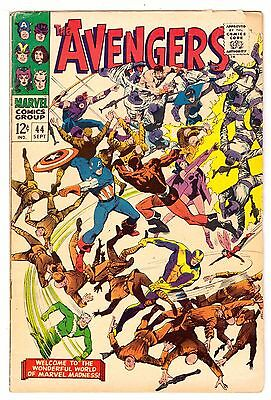Avengers #44 GD (2.0) Marvel Comic 1967