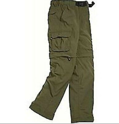 "Boy Scouts Official Switchback Uniform Pants UPF Mens Shorts Green 2XL 34"" Scout"