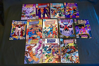 DC Comics Justice League, Justice Society Lot of 12 comic Books NICE!!!!