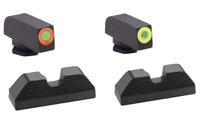 AmeriGlo UC Combat Application Pistol CAP Series Tritium Sight Sets for Glocks