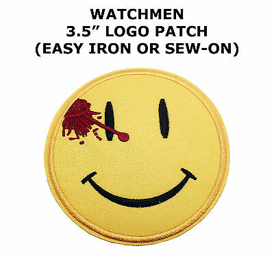 Watchmen Movie Logo Embroidered Iron-on patch